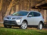 Images of Toyota RAV4 US-spec 2013