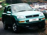 Photos of Toyota RAV4 EV 3-door UK-spec 1997