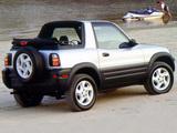 Photos of Toyota RAV4 Convertible US-spec 1998–2000
