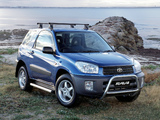 Photos of Toyota RAV4 Edge 3-door AU-spec 2000–03