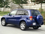 Photos of Toyota RAV4 US-spec 2000–03