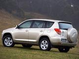 Photos of Toyota RAV4 AU-spec 2006–08