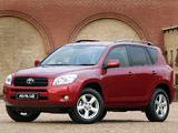Photos of Toyota RAV4 ZA-spec 2006–08