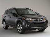Photos of Toyota RAV4 US-spec 2013