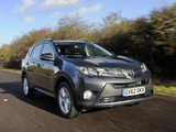 Photos of Toyota RAV4 UK-spec 2013