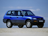 Pictures of Toyota RAV4 5-door 1994–97