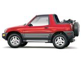 Pictures of Toyota RAV4 Convertible US-spec 1998–2000