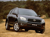 Pictures of Toyota RAV4 AU-spec 2006–08