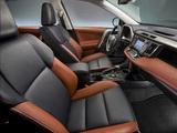 Pictures of Toyota RAV4 US-spec 2013