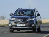 Pictures of Toyota RAV4 UK-spec 2013