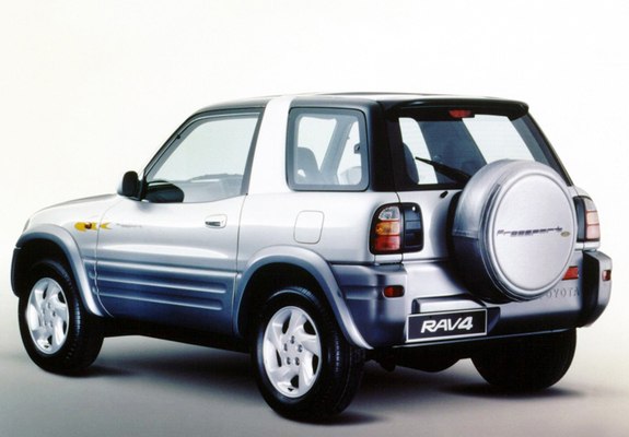 sc 1 st  FavCars.com & Toyota RAV4 3-door UK-spec 1998u20132000 pictures