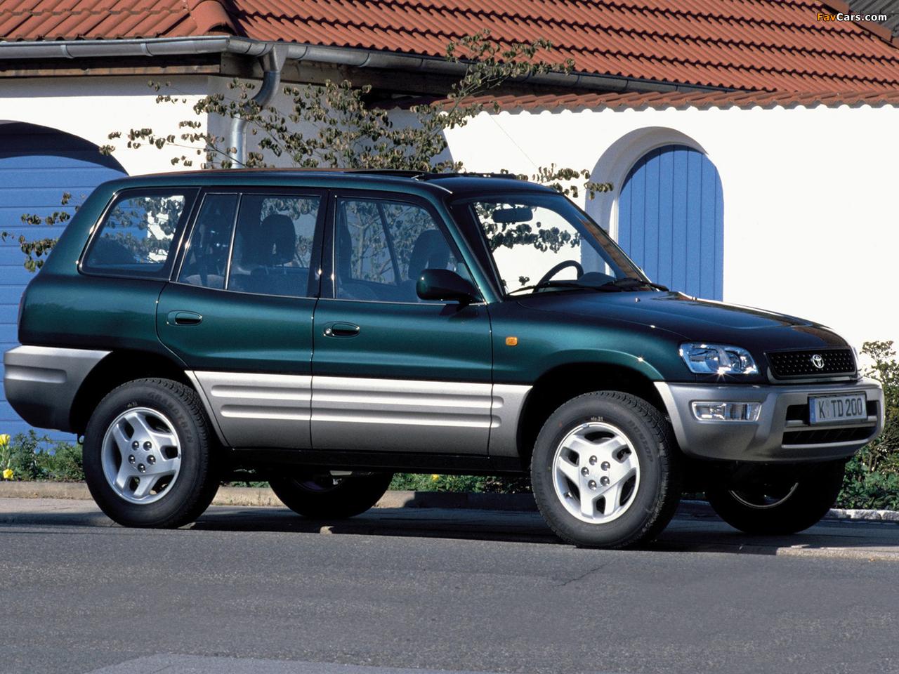 Toyota RAV4 5-door 1998–2000 pictures (1280 x 960)