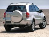 Toyota RAV4 US-spec 2000–03 images
