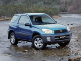 Toyota RAV4 Edge 3-door AU-spec 2000–03 photos
