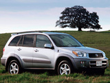 Toyota RAV4 US-spec 2000–03 wallpapers