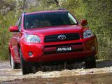 Toyota RAV4 AU-spec 2006–08 images