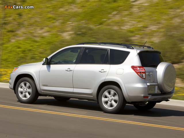 Toyota RAV4 Limited US-spec 2008 pictures (640 x 480)
