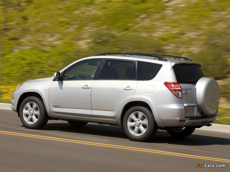 Toyota RAV4 Limited US-spec 2008 pictures (800 x 600)