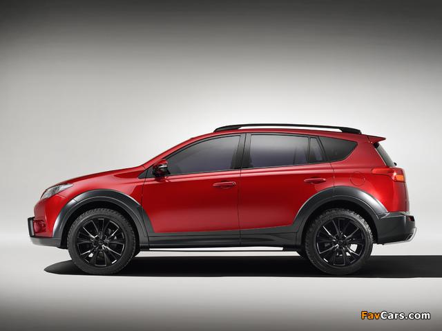 Toyota RAV4 Adventure Concept 2013 images (640 x 480)