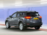 Toyota RAV4 UK-spec 2013 photos