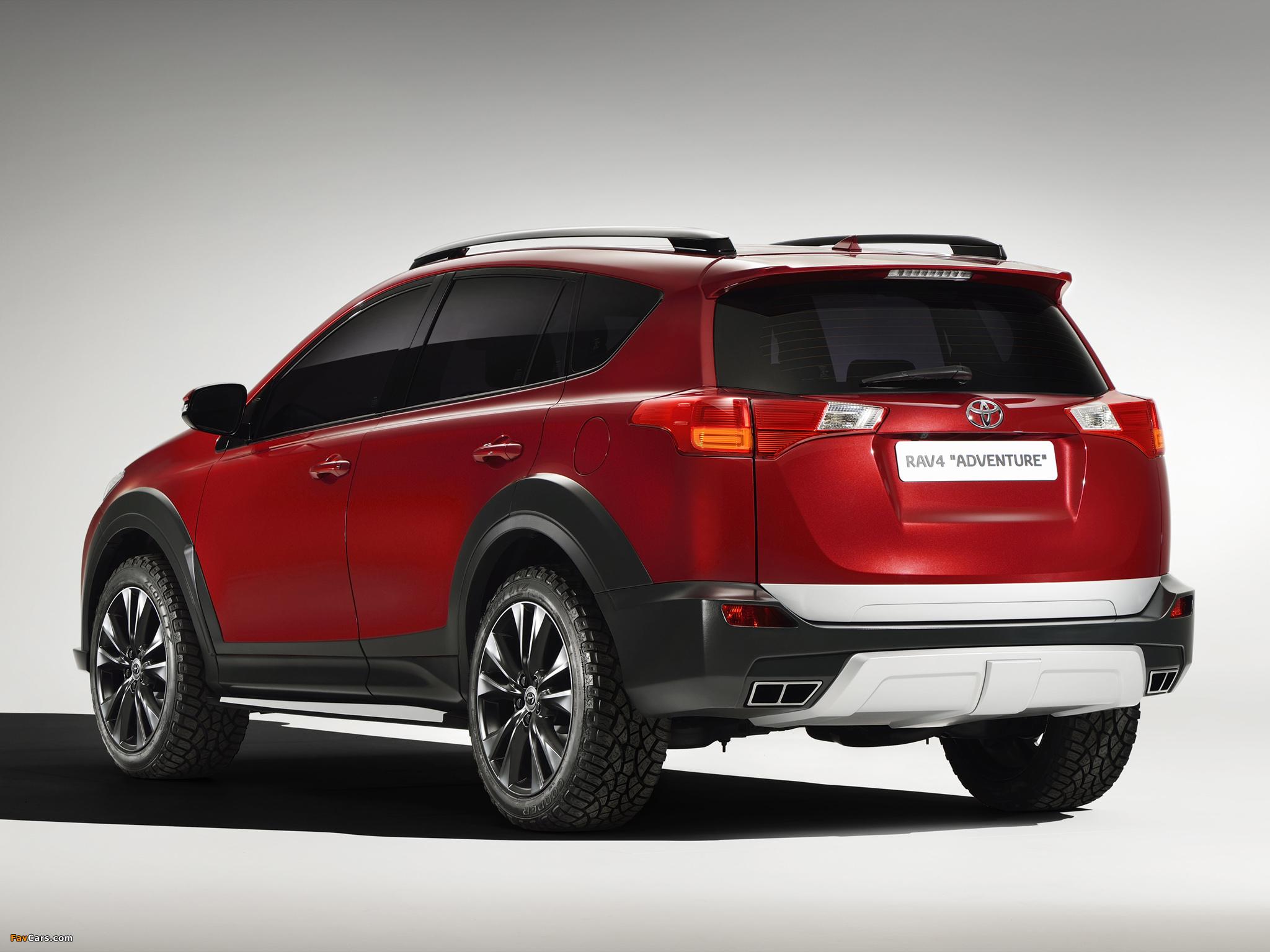 Toyota RAV4 Adventure Concept 2013 photos (2048 x 1536)