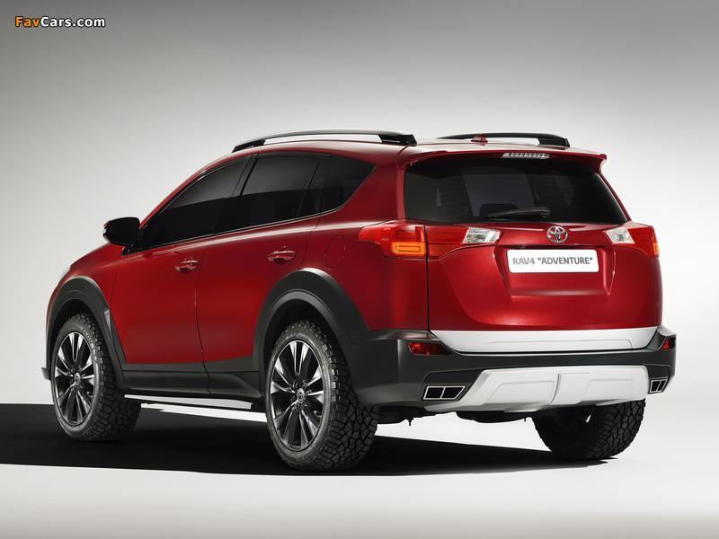 Toyota RAV4 Adventure Concept 2013 photos (800 x 600)