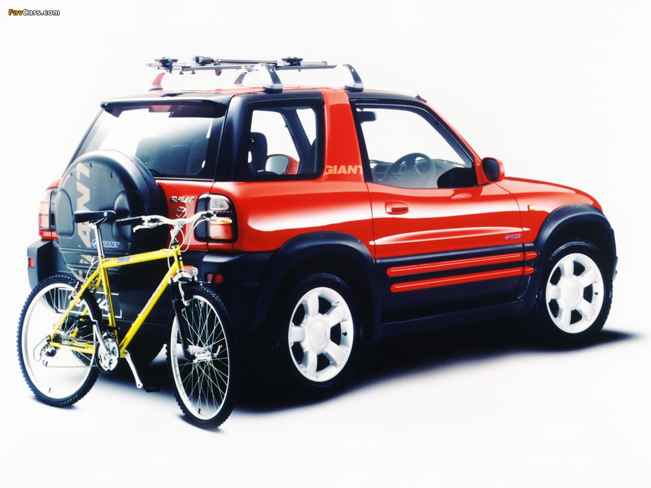 Toyota Rav4 3 Door Uk Spec 1998 2000 Wallpapers 1280x960