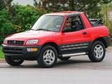 Toyota RAV4 Convertible US-spec 1998–2000 wallpapers