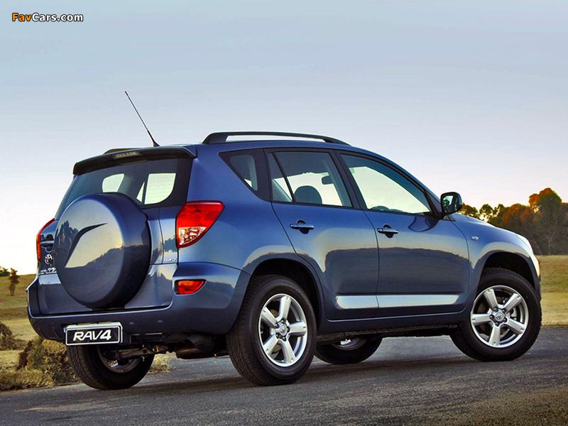 toyota rav4 za spec 2006 08 wallpapers 800x600. Black Bedroom Furniture Sets. Home Design Ideas