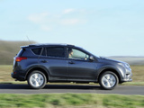 Toyota RAV4 UK-spec 2013 wallpapers