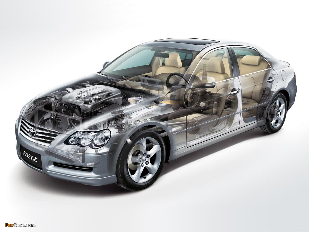 Toyota Reiz 2005–10 wallpapers (1024 x 768)