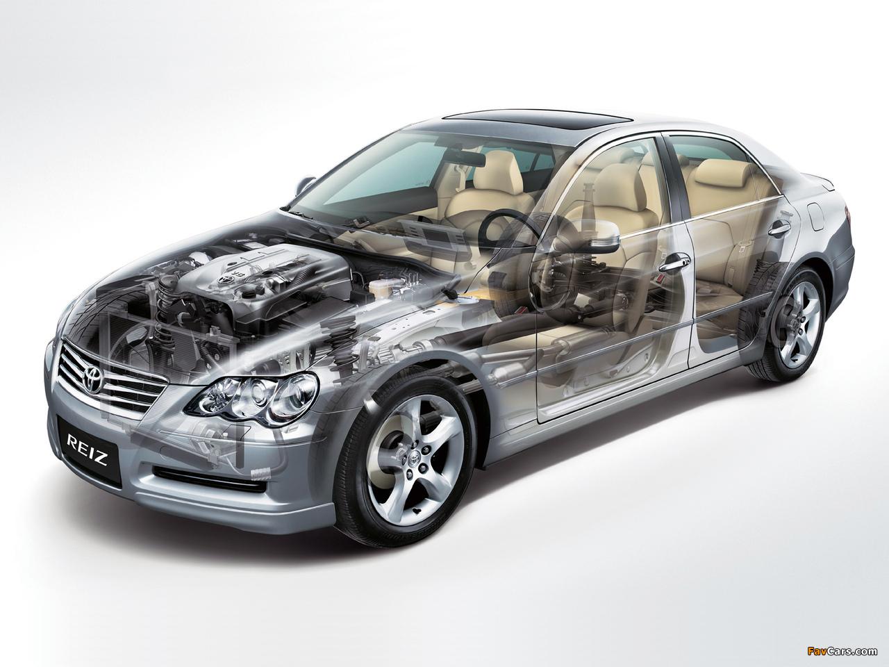Toyota Reiz 2005–10 wallpapers (1280 x 960)