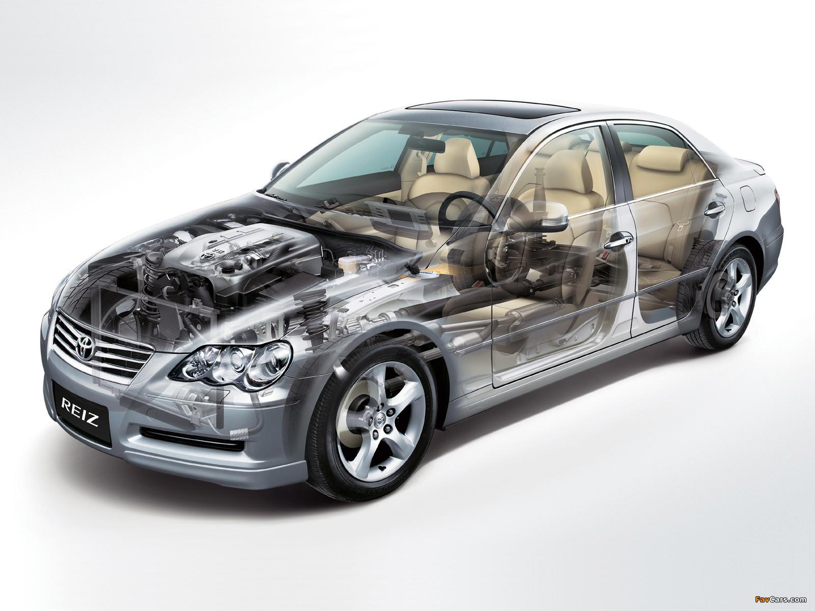 Toyota Reiz 2005–10 wallpapers (1600 x 1200)
