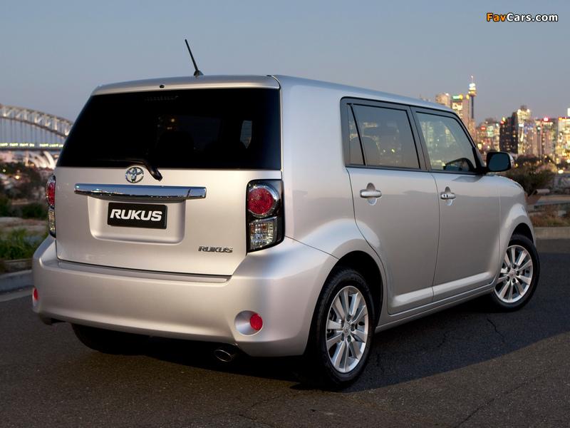 Toyota Rukus 2010 images (800 x 600)