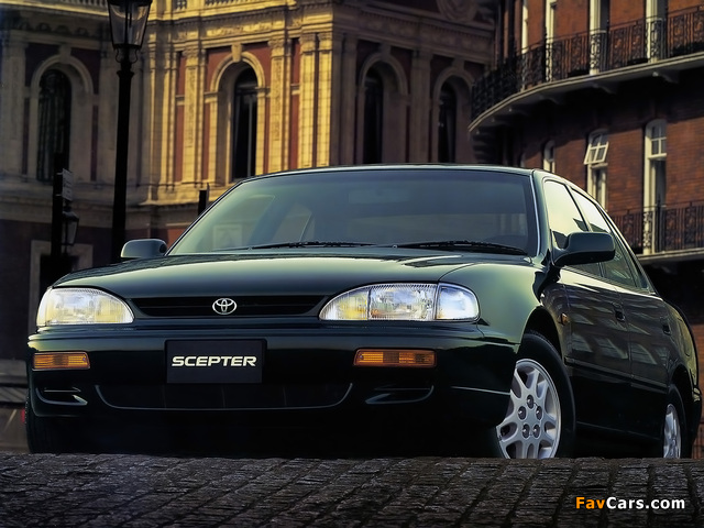 Images of Toyota Scepter (XV10) 1994–96 (640 x 480)