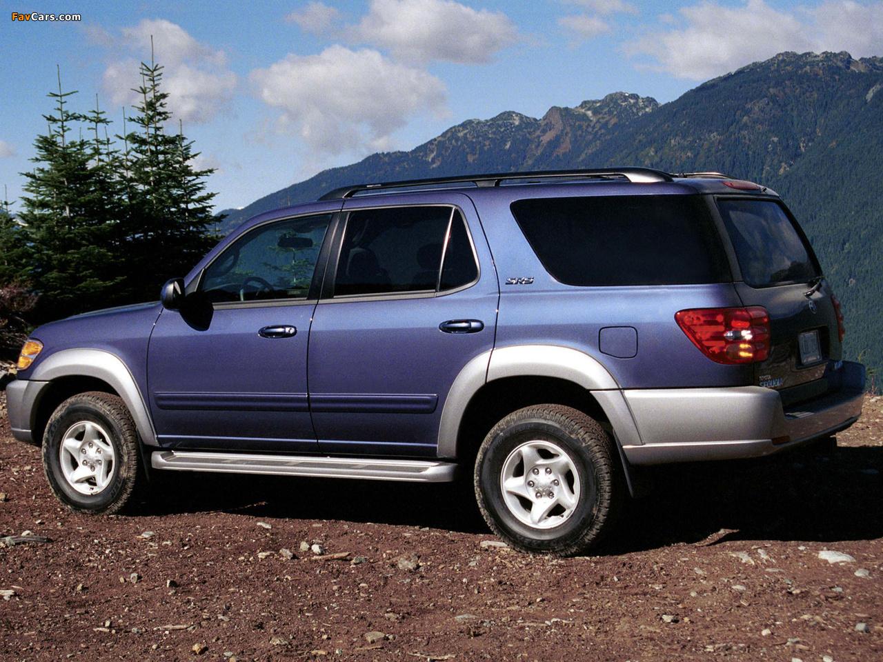 Images of Toyota Sequoia SR5 2000–05 (1280 x 960)