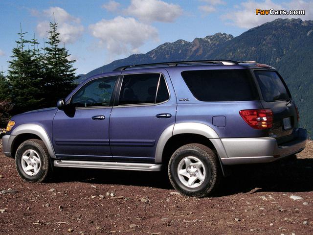 Images of Toyota Sequoia SR5 2000–05 (640 x 480)