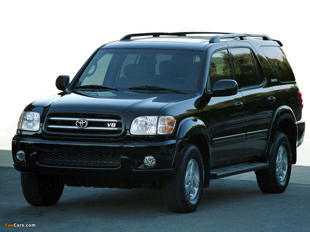 Images of Toyota Sequoia Limited 2000–05 (1024 x 768)