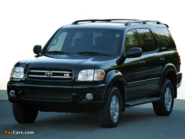 Images of Toyota Sequoia Limited 2000–05 (640 x 480)