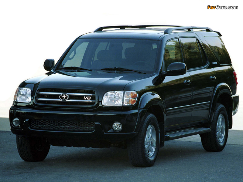 Images of Toyota Sequoia Limited 2000–05 (800 x 600)