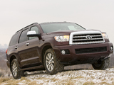 Images of Toyota Sequoia Limited 2007–17
