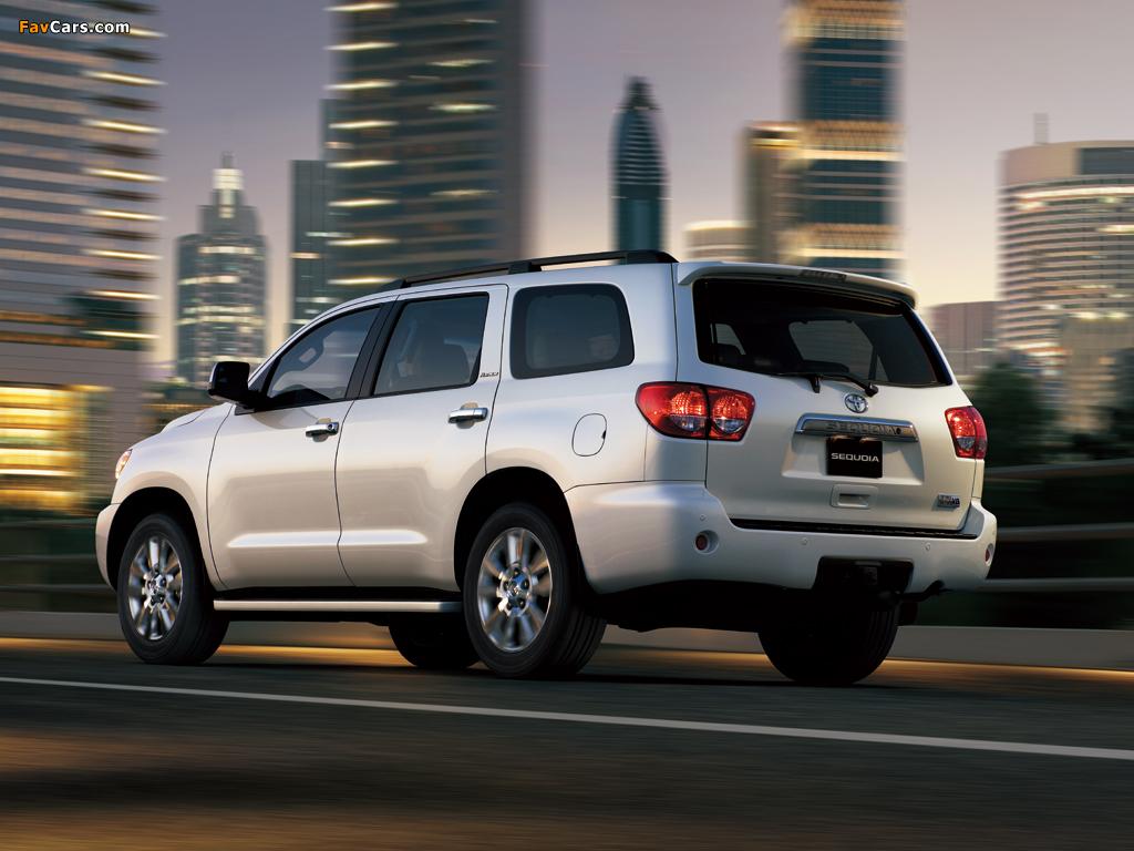 Images of Toyota Sequoia Limited UAE-spec 2007 (1024 x 768)