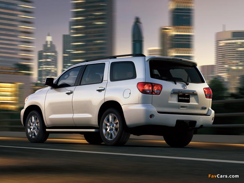 Images of Toyota Sequoia Limited UAE-spec 2007 (800 x 600)