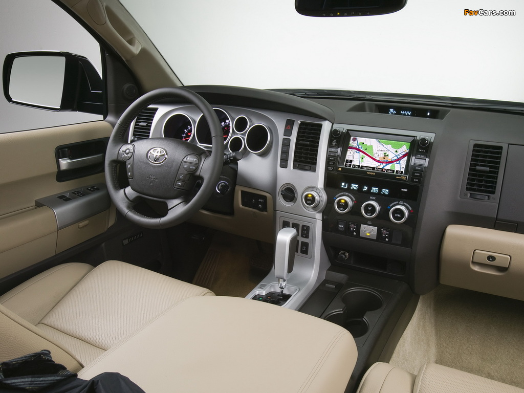 Images of Toyota Sequoia Limited 2007 (1024 x 768)