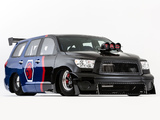 Images of Toyota Sequoia Family Dragster by Antron Brown Team 2012