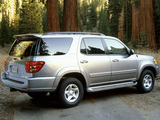 Photos of Toyota Sequoia Limited 2000–05