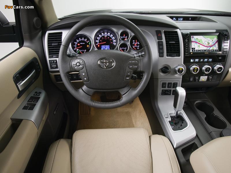 Photos of Toyota Sequoia Platinum 2007–2017 (800 x 600)