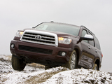 Photos of Toyota Sequoia Limited 2007–17