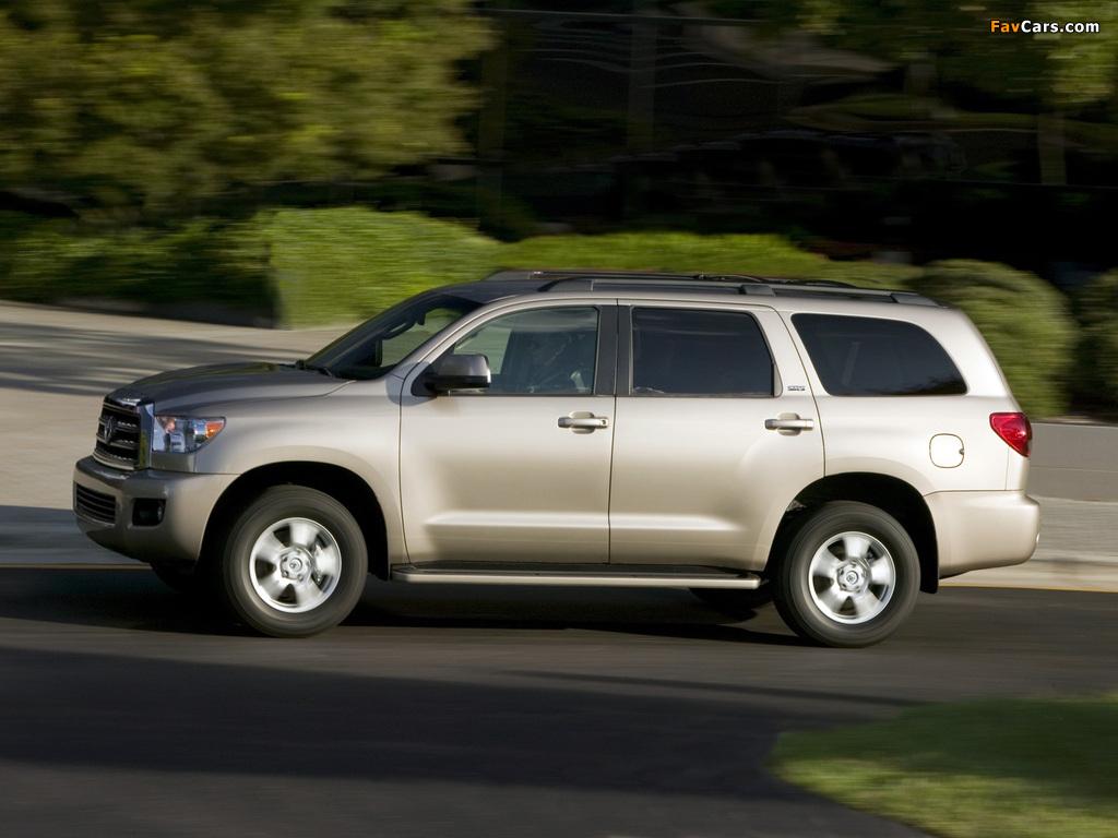 Photos of Toyota Sequoia SR5 2007 (1024 x 768)