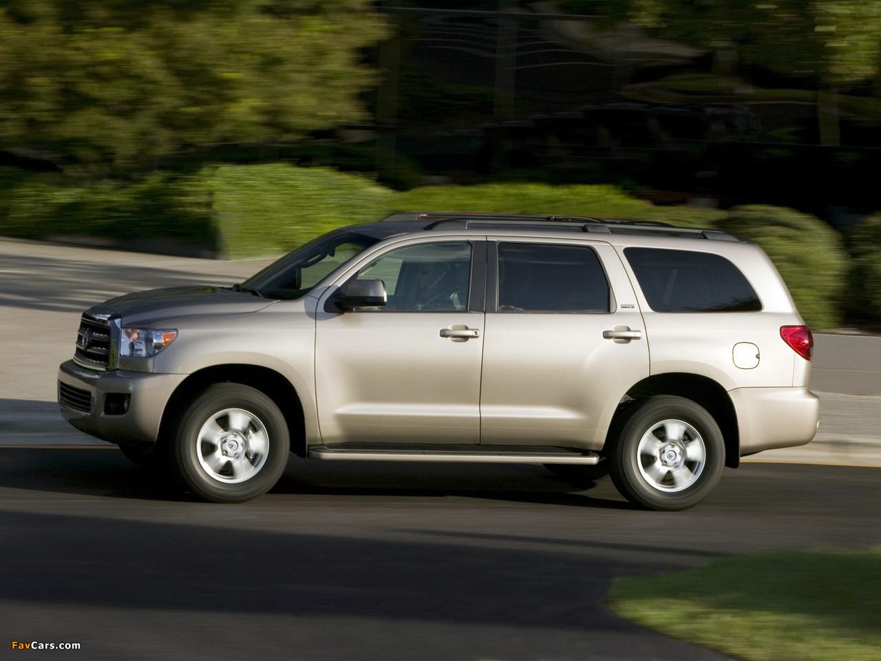 Photos of Toyota Sequoia SR5 2007 (1280 x 960)